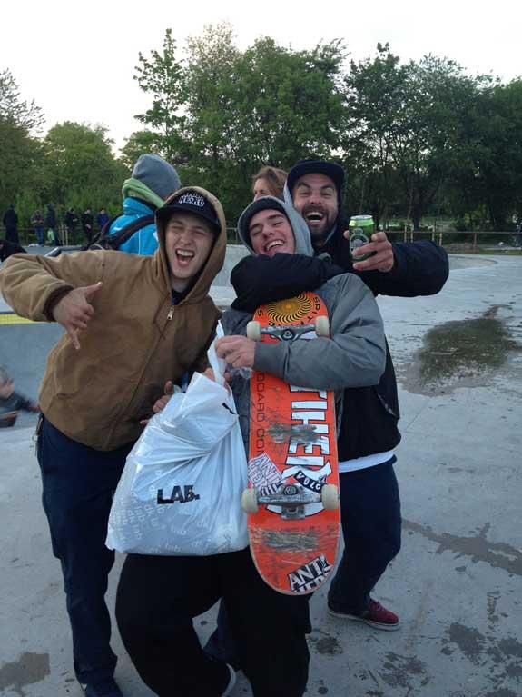 Balder - Skateboard